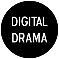 Digital Drama Retina Logo